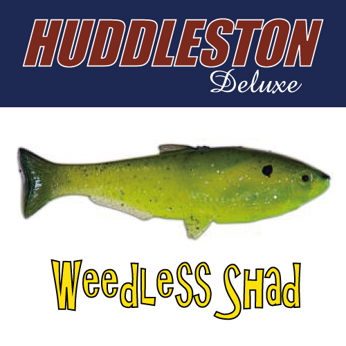 [허들스톤] Weedless Shad - Huddleston Deluxe
