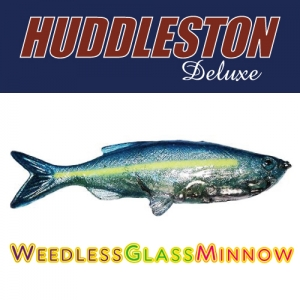 [허들스톤] Weedless Glass Minnow - Huddleston Deluxe