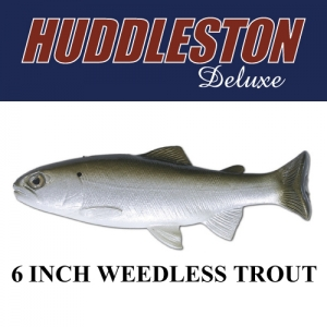 "[허들스톤] 6"" Weedless Trout - Huddleston Deluxe"