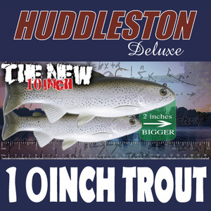 "[허들스톤] 10"" Trout - Huddleston Deluxe"